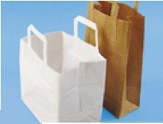 Papiertragetasche weiß 22x10x36cm 250St.