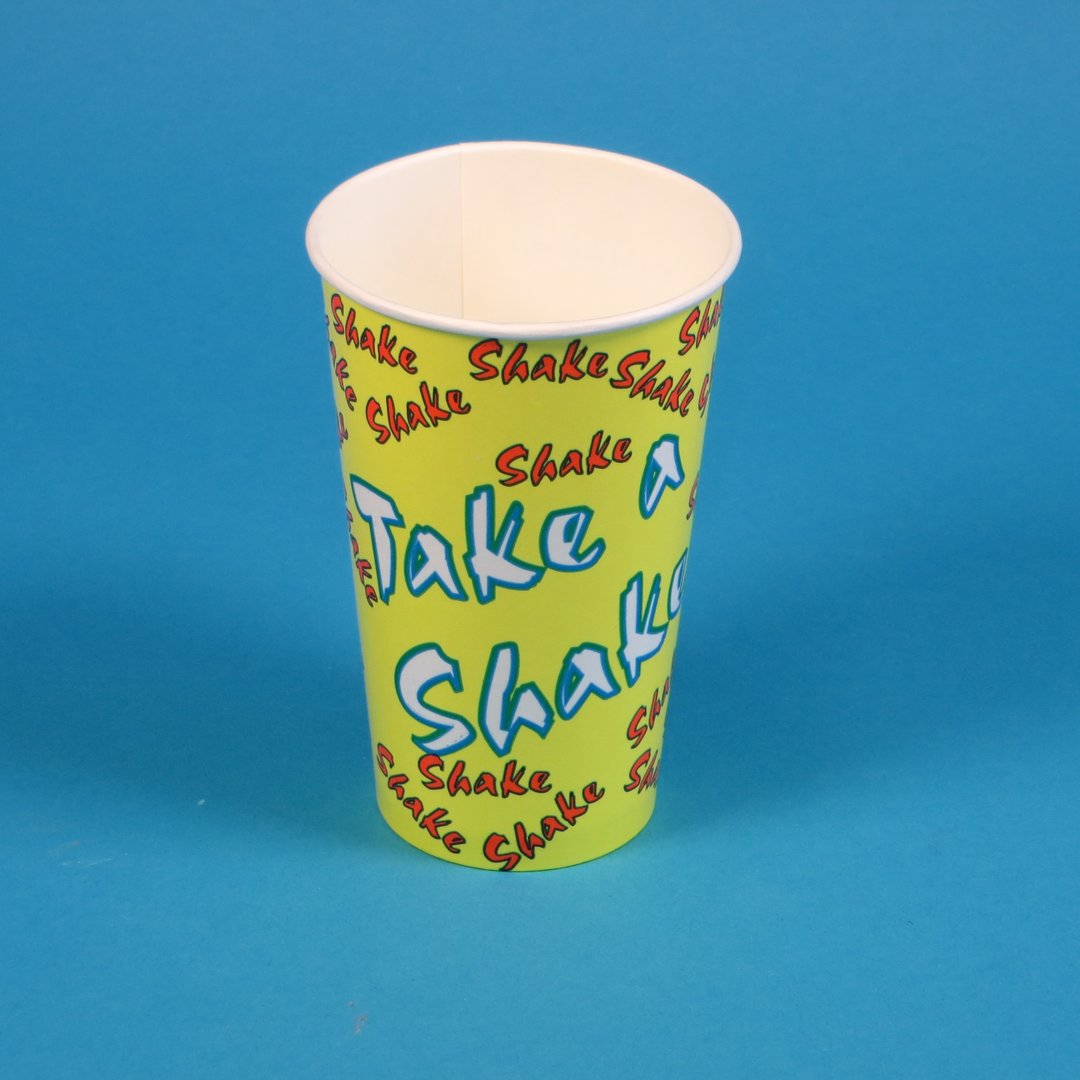 Shakebecher Hartpapier mit Neutraldruck 300ml 2000St
