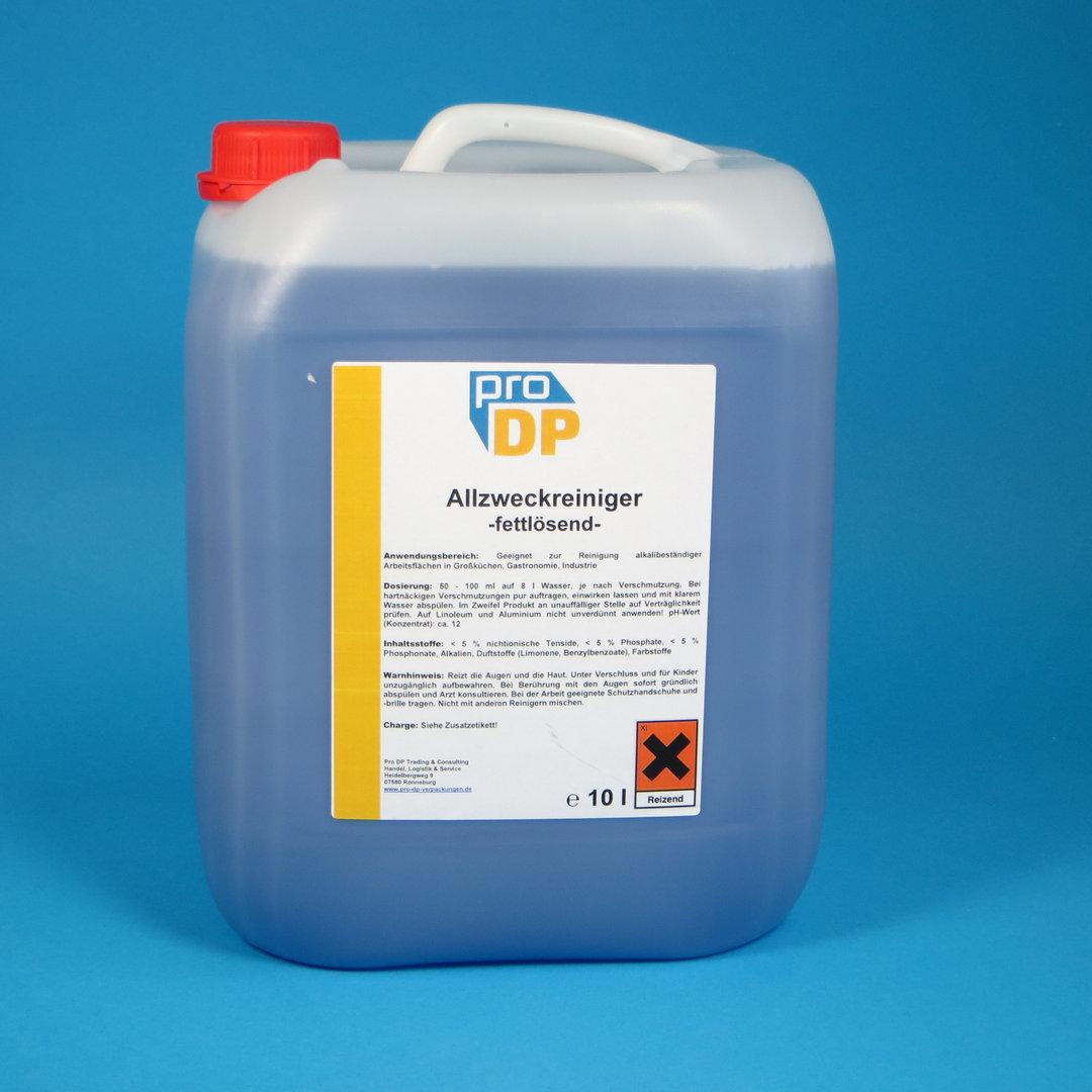 Pro DP Allzweckreiniger fettlösend 10l Kanister