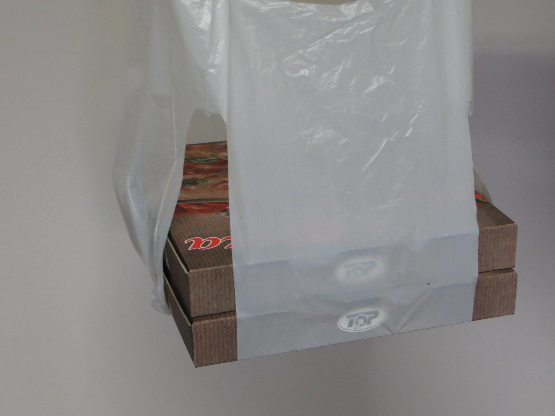 Pizzatragetasche ND weiß 1000St.