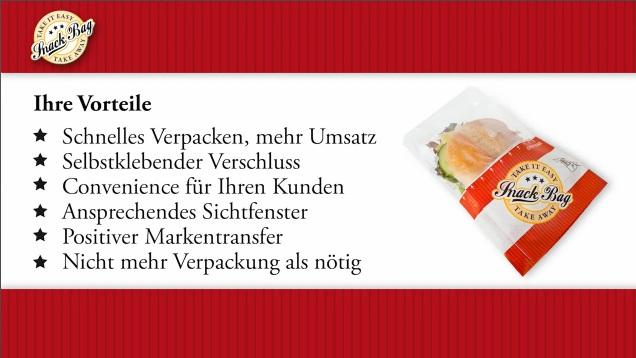 "Snack Bag M ""Black Line"" m. Abreißfolie 180x70x225mm 1000St"
