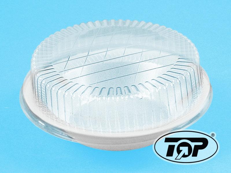 Teller / Schalen B2 Ø18cm rund geschäumt weiß 600St.