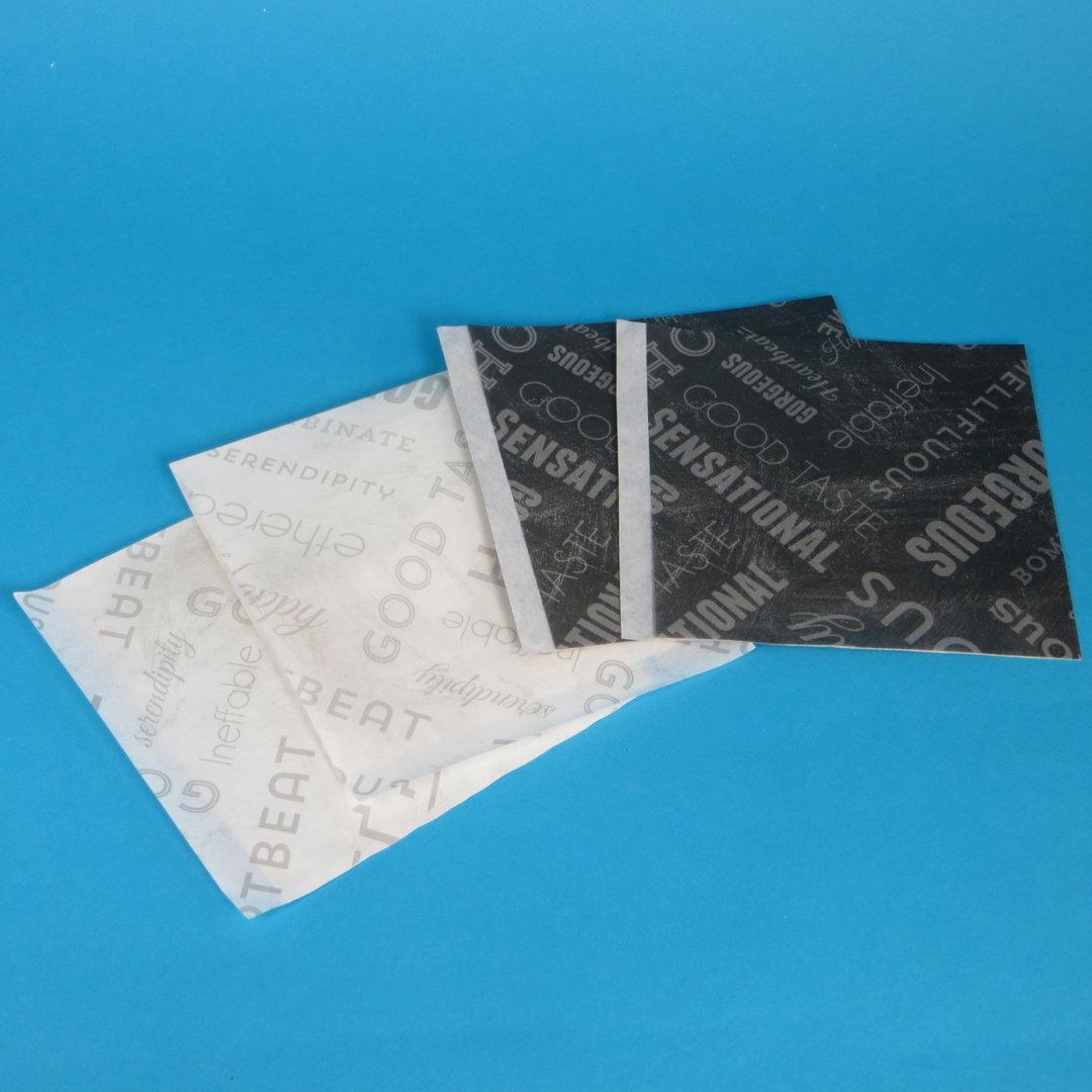 Snacktaschen Premium 15x16cm 2-seitig offen schwarz o. weiß 500St