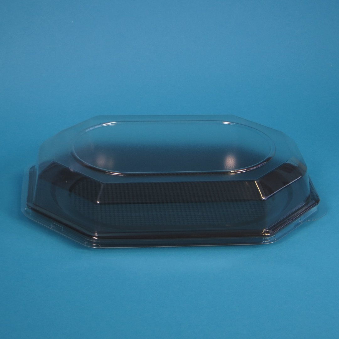 Klarsichthaube 560x370x65mm f. Kunststoff Partyplatten XL 50St