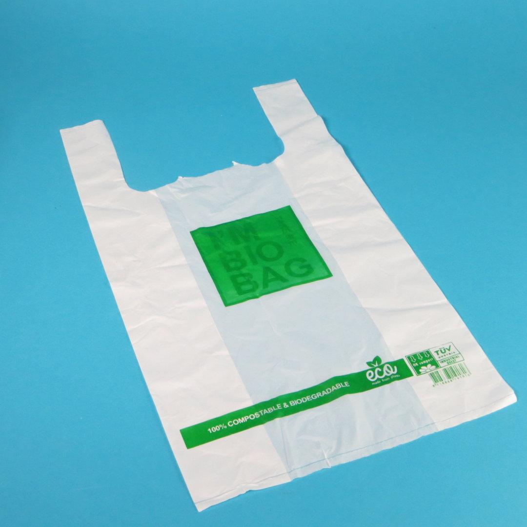 Bio Hemdchentragetaschen naturweiß 15-18my 500St. versch. Größen