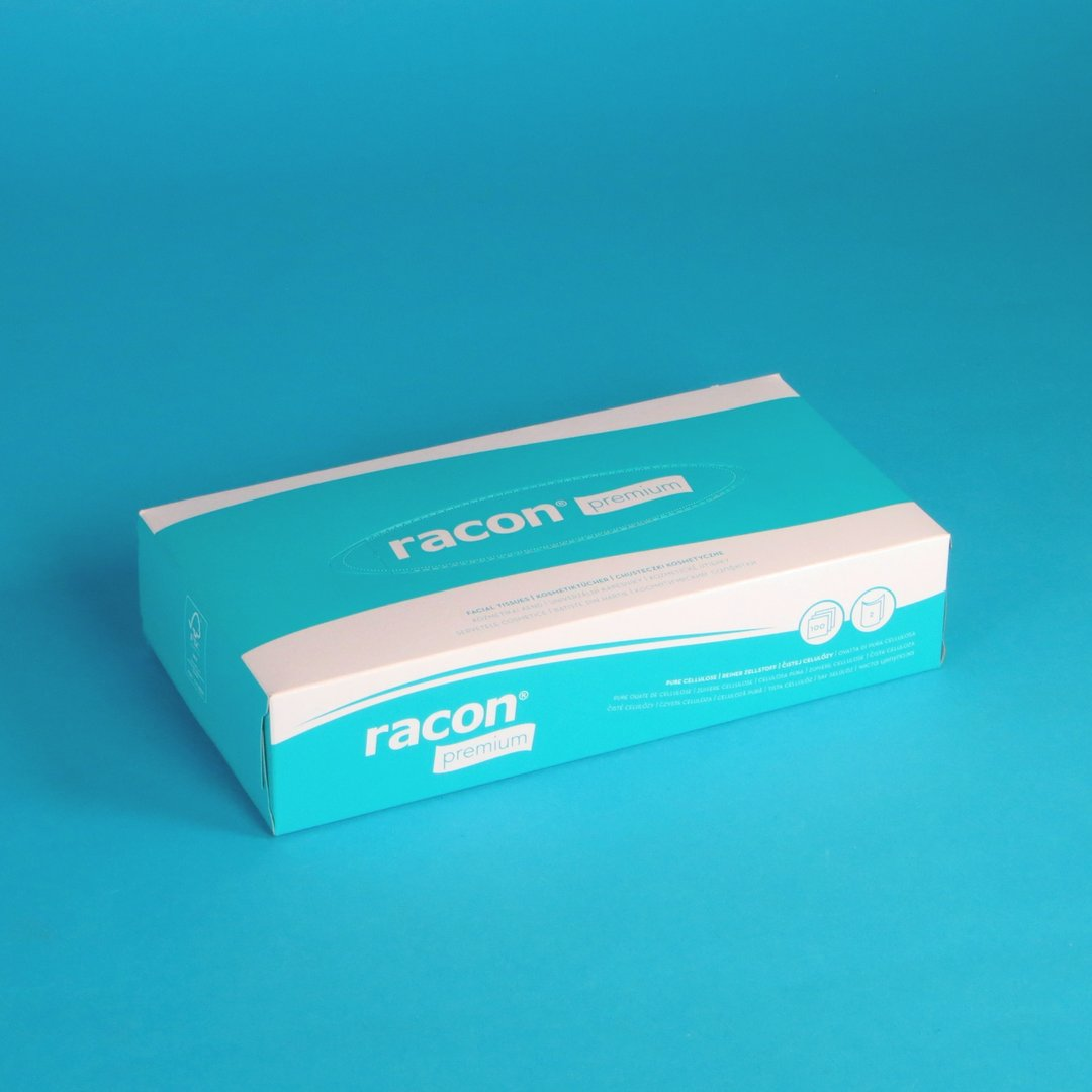 Kosmetiktücher FSC Spenderbox 40x100 im Karton