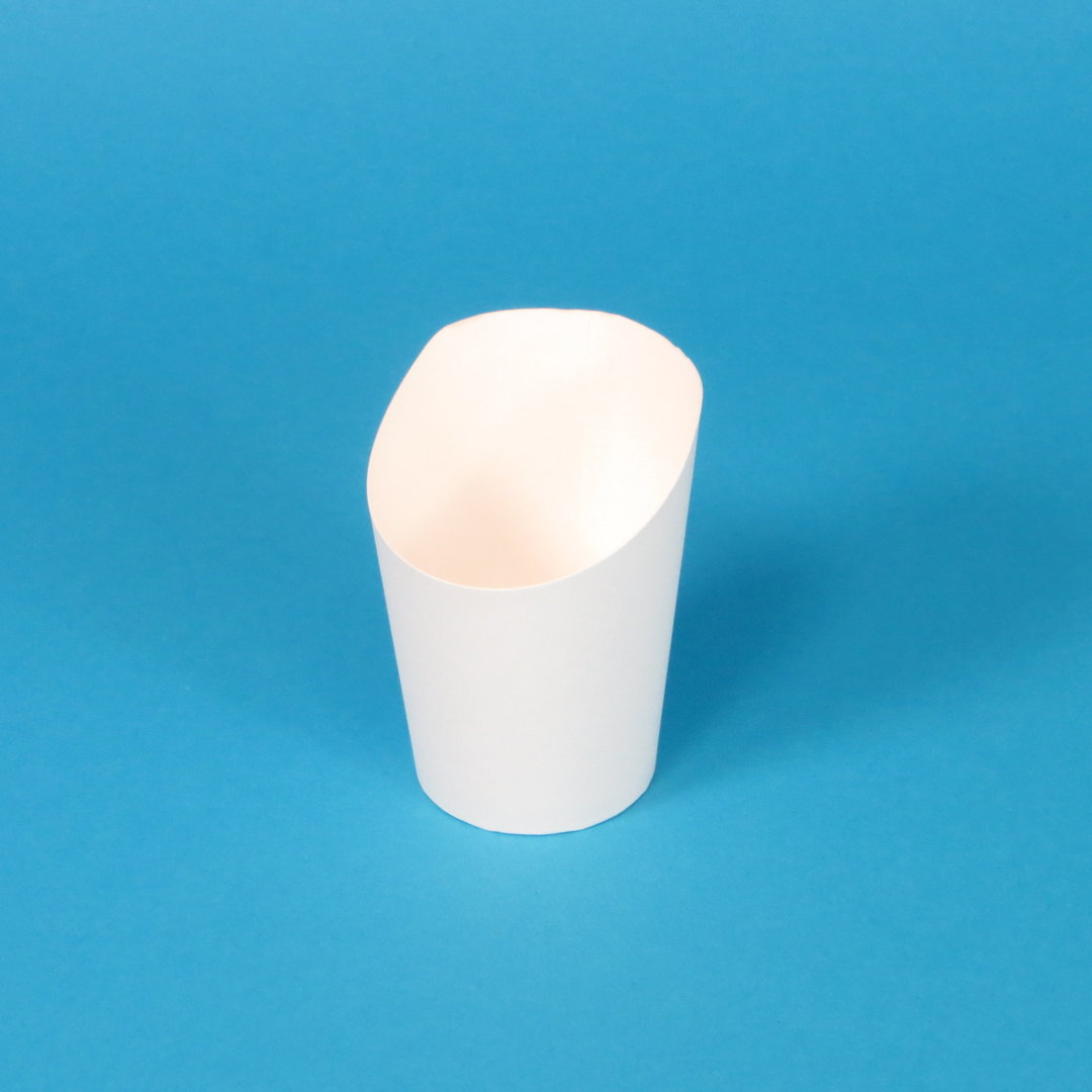 Snack Wrap Cup Hartpapier 200ml weiß 80x100mm 1500St.