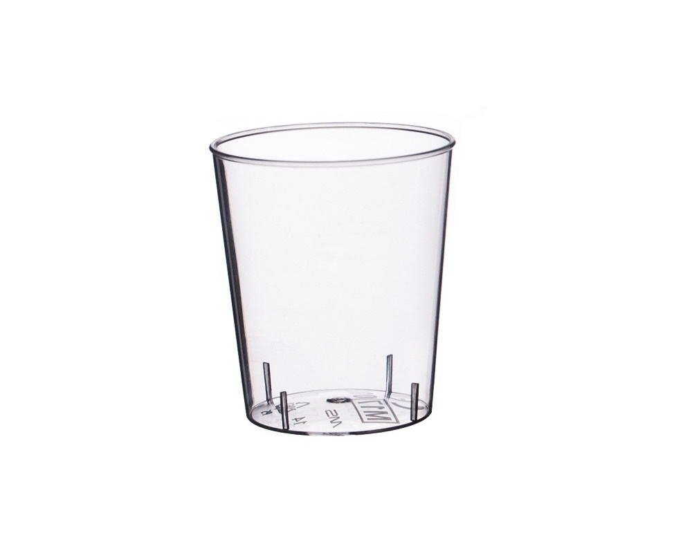 Schnapsgläser Einweg Spritzguss glasklar 2/4cl 2000St