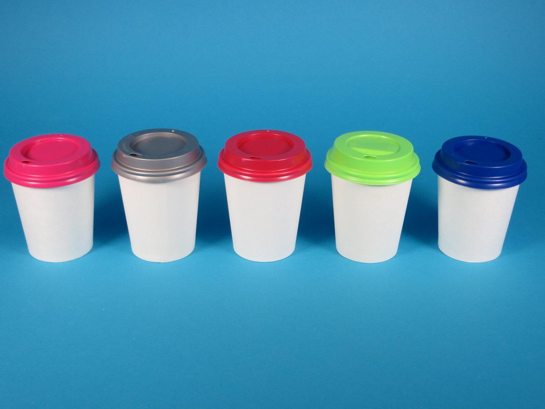 Deckel f. Coffee to go Becher versch. Farben & Größen