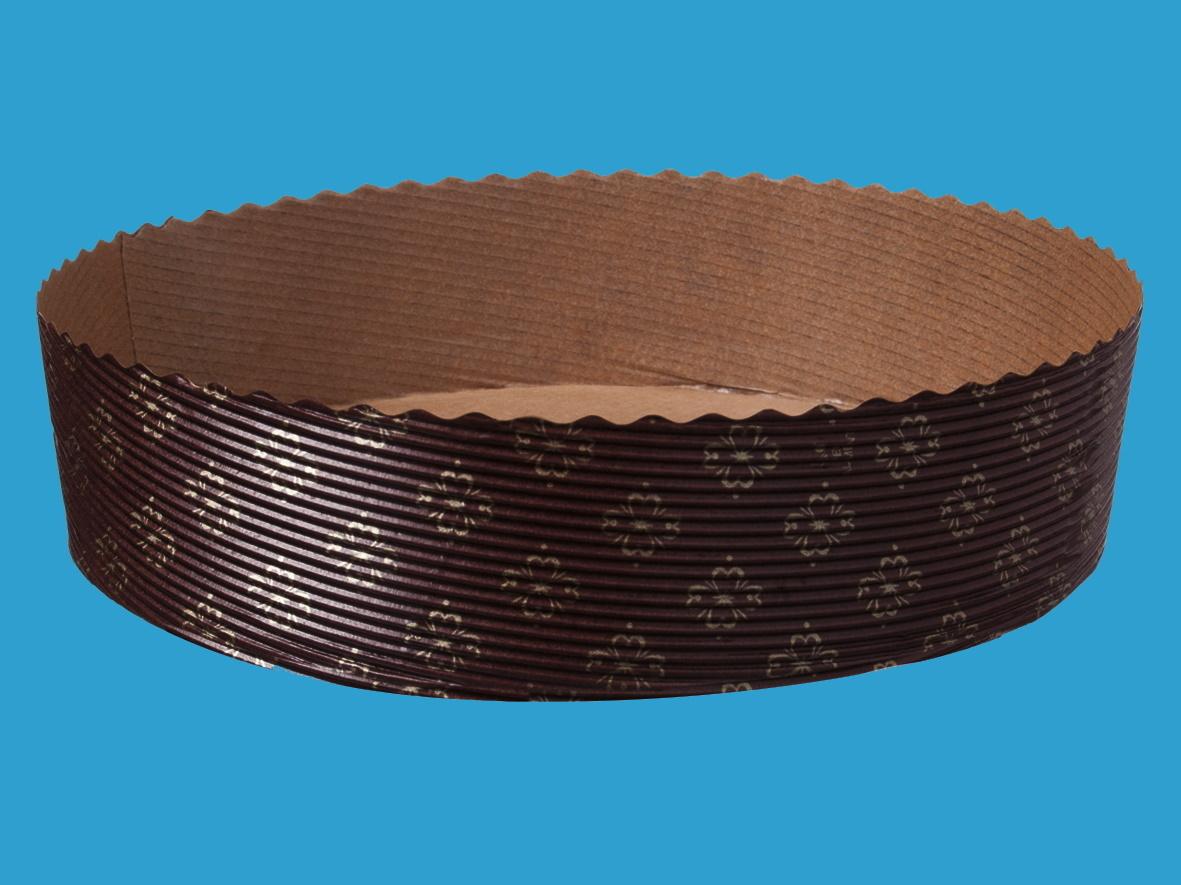Einwegbackformen Papier rund Ø185mm 45mm hoch 540St