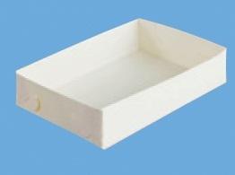 Lasagne Back Tray Papier 190x125x45mm 200St