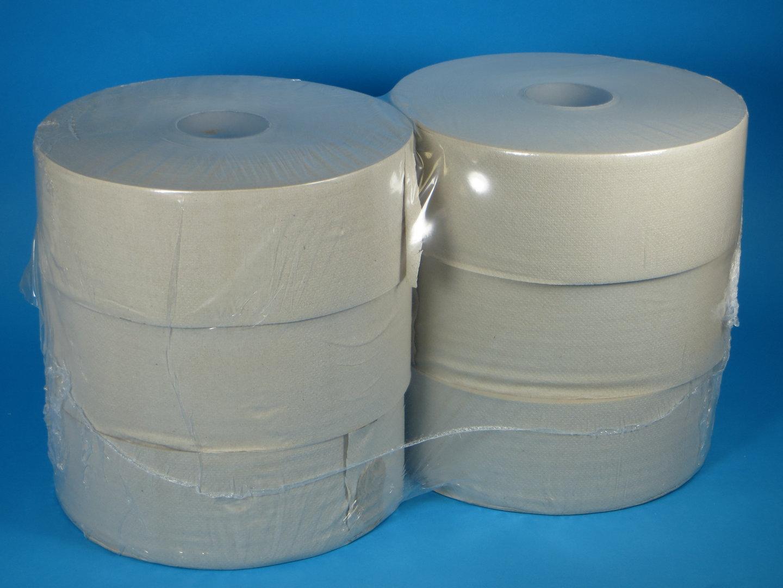 Toilettenpapier Großrolle Recycling natur 1lg 470m 6Ro