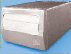 Spenderserviette weiß 31x41cm gefaltet auf 17x12cm 5.400St