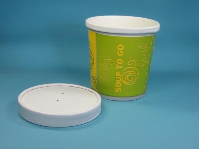 Soup to go Becher Neutraldruck Hartpapier 500St versch. Größen ab