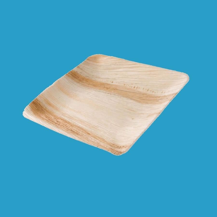 Bio Palmblatt Teller quadratisch 18x18cm 200St