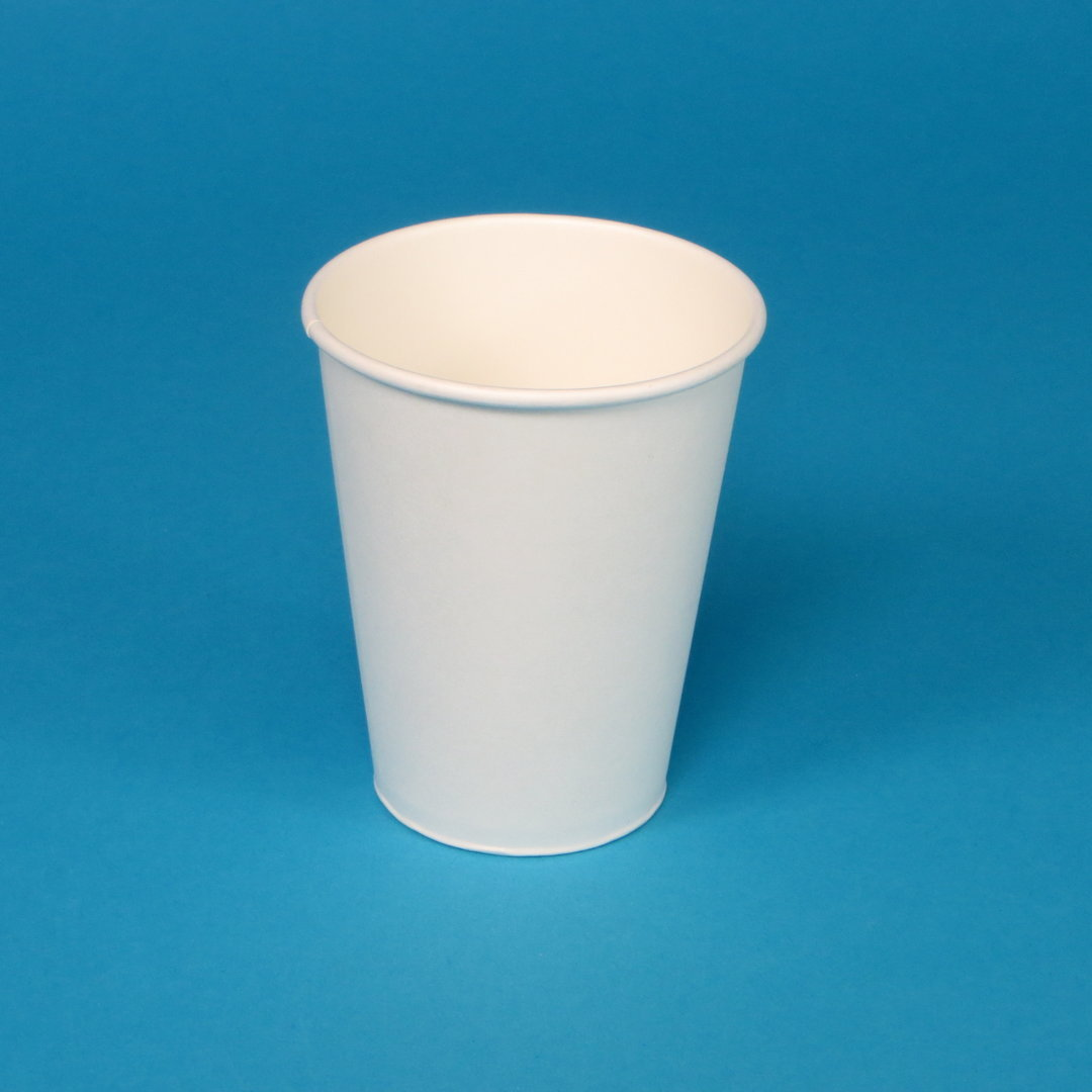 Coffee to go Becher weiß ohne Druck 1000St. versch. Größen