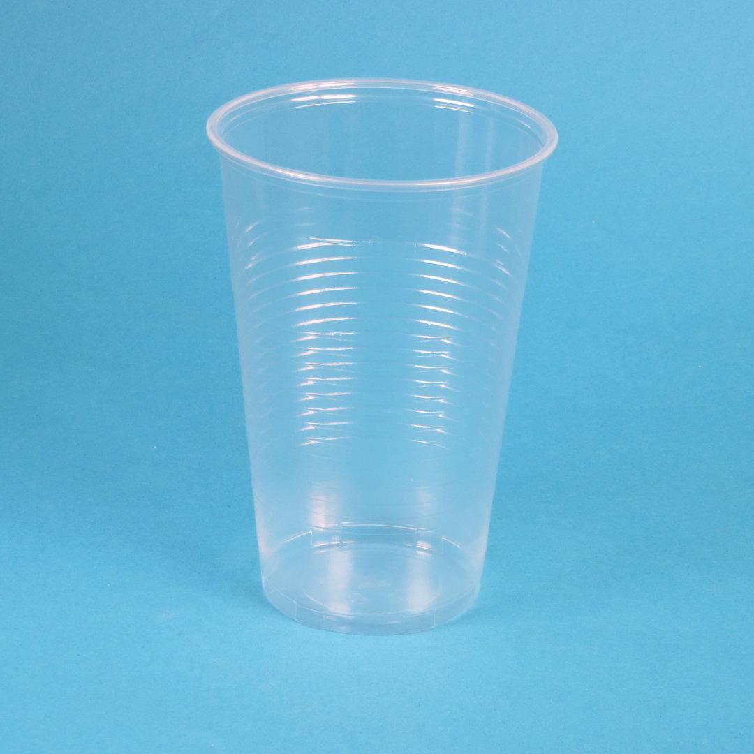 Trinkbecher 500ml transparent PP 1.600St