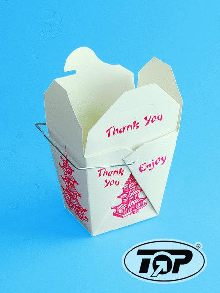 Fold Pak Asia Snackbox mit Henkel 26oz 750ml 500St