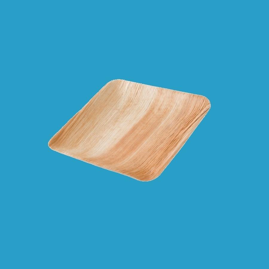 Bio Palmblatt Teller / Schale quadratisch 23x23cm 200St