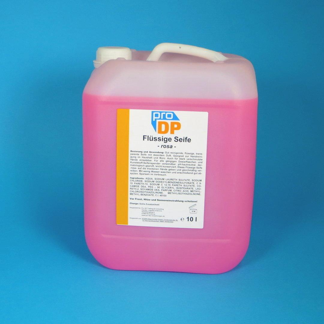 Pro DP Handseife flüssig rosa 10l Kanister 1St