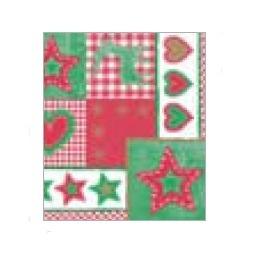 """Tissue Servietten """"Weihnachten"""" 33x33cm 3lg 1/4 800St"""