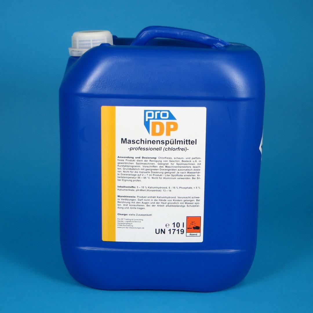 Pro DP Maschinenspülmittel Professionell chlorfrei flüssig 10l