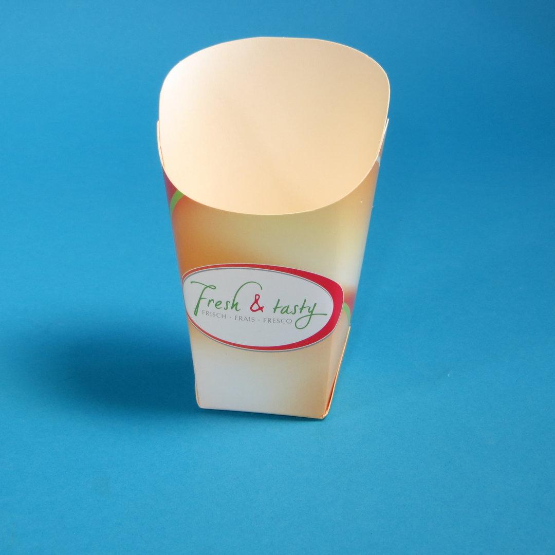 "Snack Wrap Cup ""Fresh & Tasty"" Hartpapier 1000St"