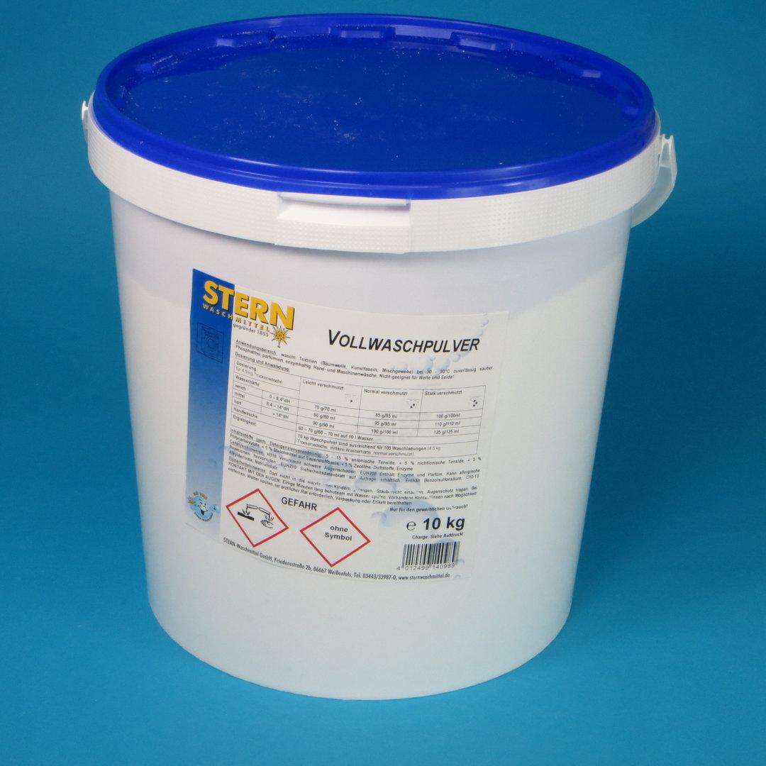 Stern Vollwaschmittel Pulver 10kg Eimer