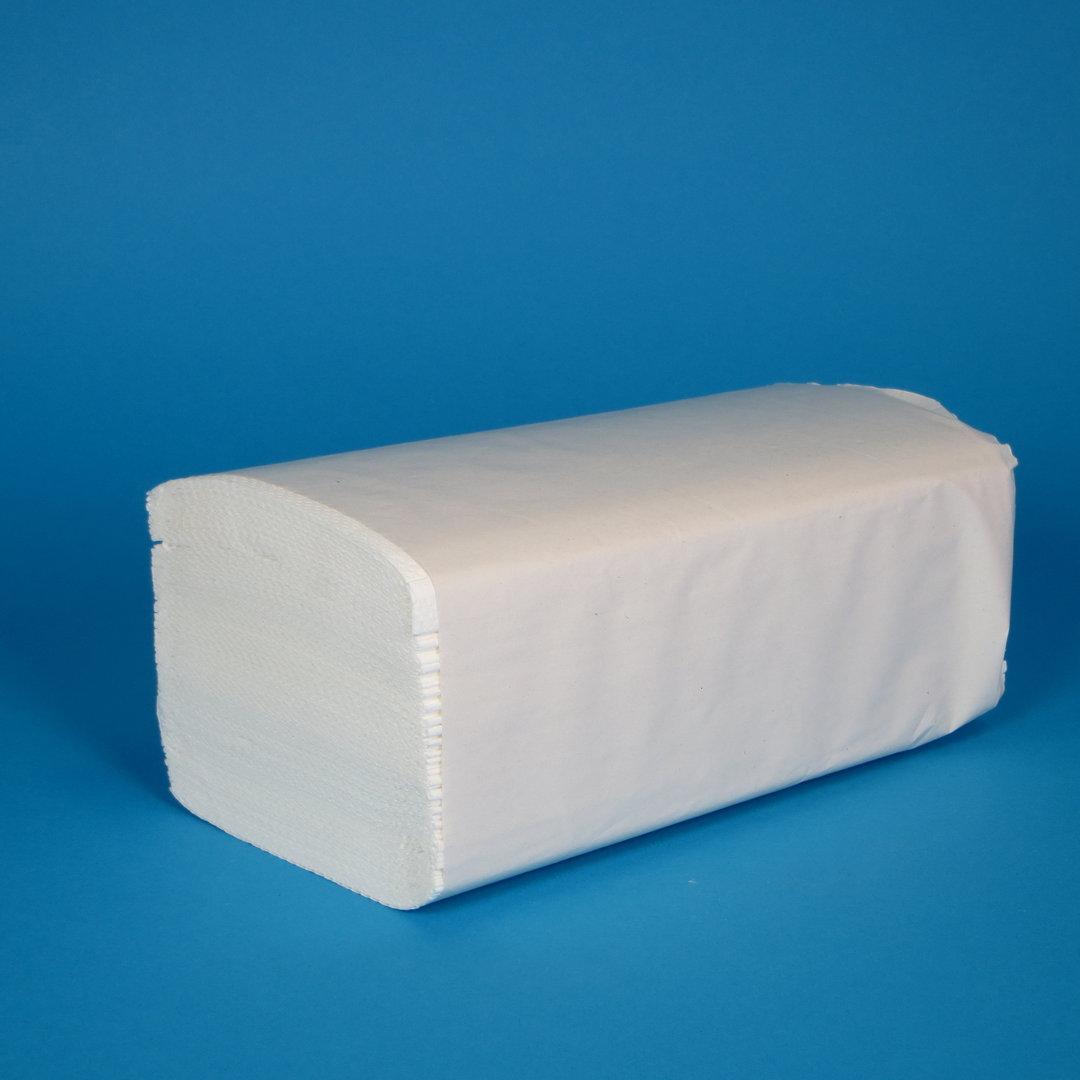 Papierhandtücher hochweiß 25x23cm ZZ 2-lg FSC 4000St