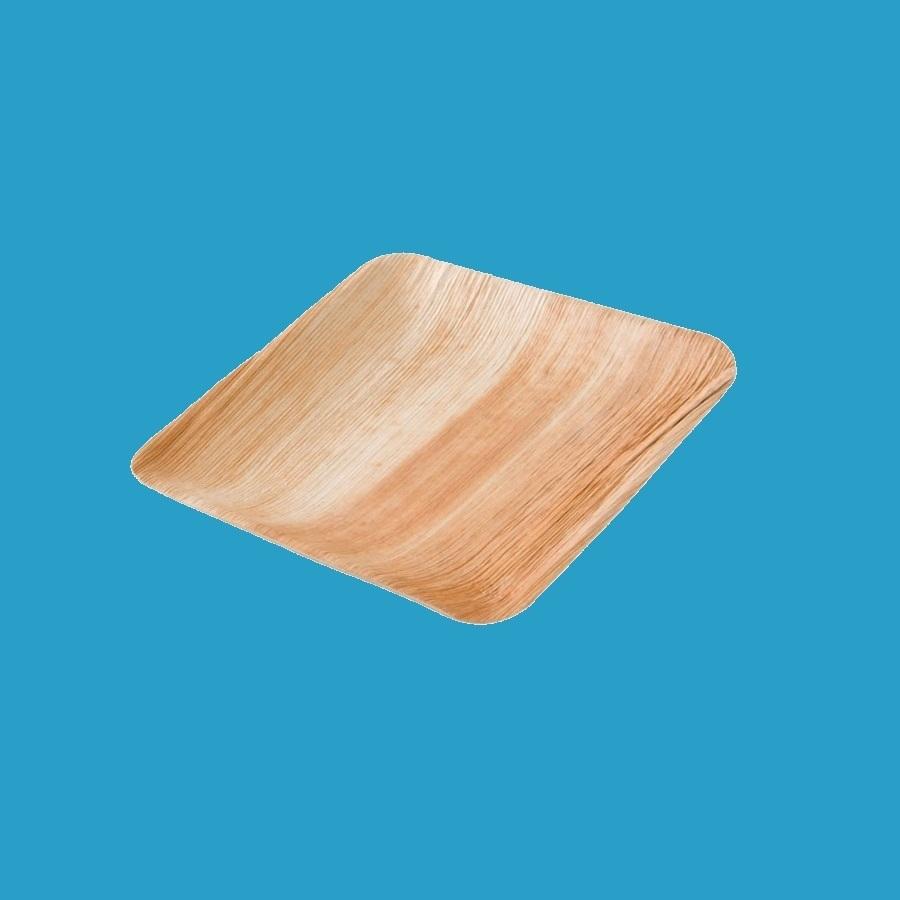 Bio Palmblatt Teller quadratisch 20x20cm 200St