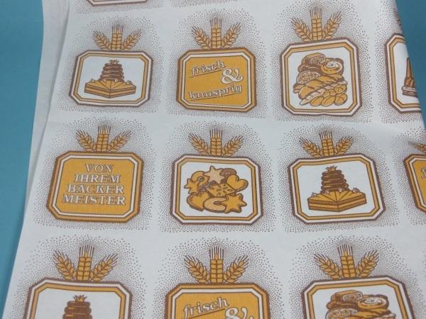 """Bäcker Einschlagpapier """"Bäckermeister"""" 40x50cm 1000St"""