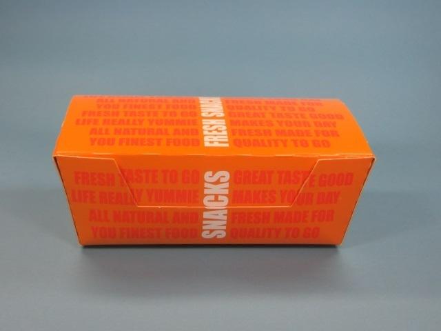 """Snackbox """"Snacks"""" 140x80x50mm 720St"""