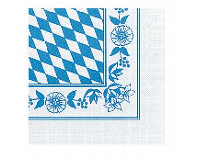 """Serviette """"Bayrische Raute"""" 33x33cm 3lg 1000St"""