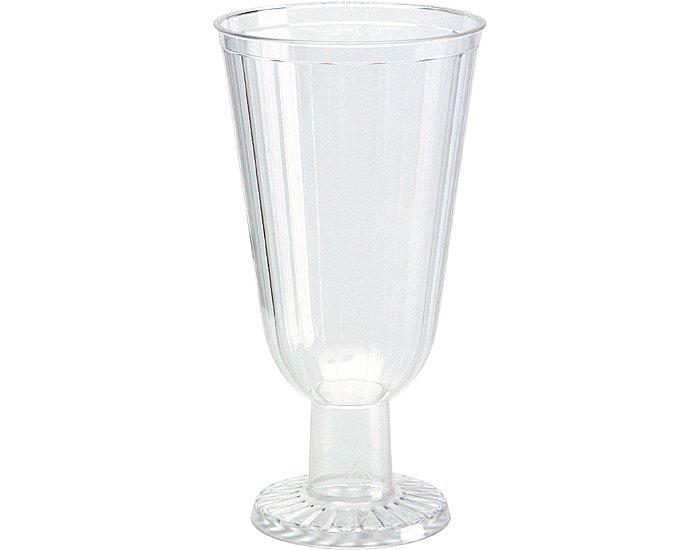 Sorbetglas Einweg klar Spritzguss mit Fuß 150St.