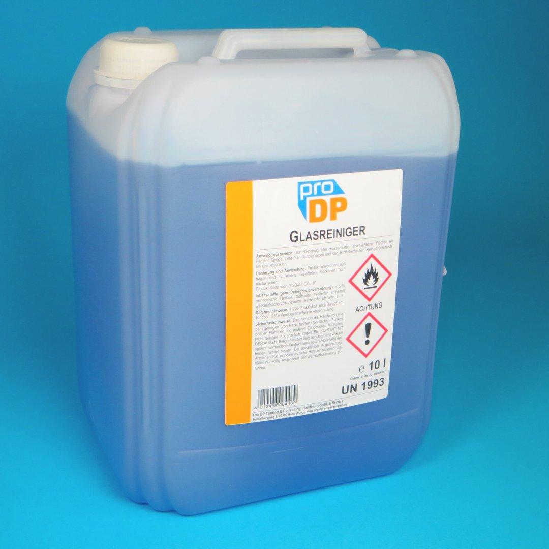 Pro DP Glasreiniger mit Fettlöser 10l Kanister 1St
