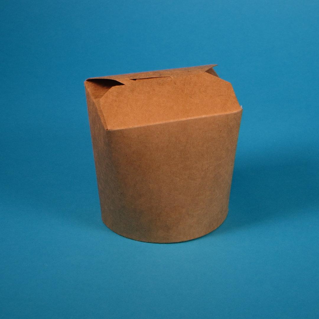 Bio Foodbox braun PLA beschichtet versch. Größen