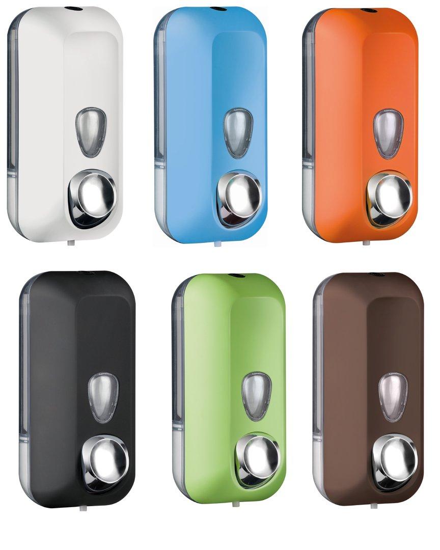 Seifenspender für Handseife 550ml nachfüllbar versch. Farben