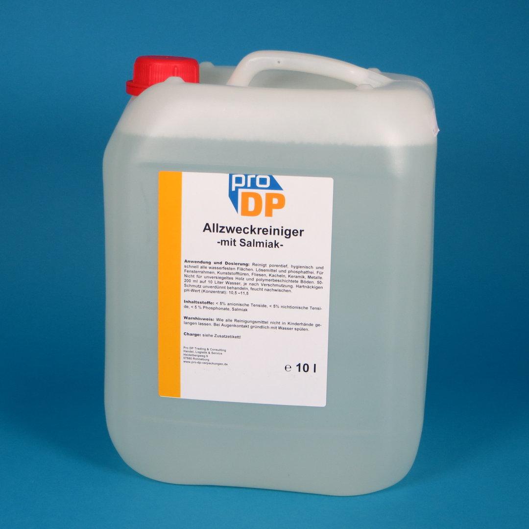 Pro DP Allzweckreiniger mit Salmiak NH3 10l Kanister