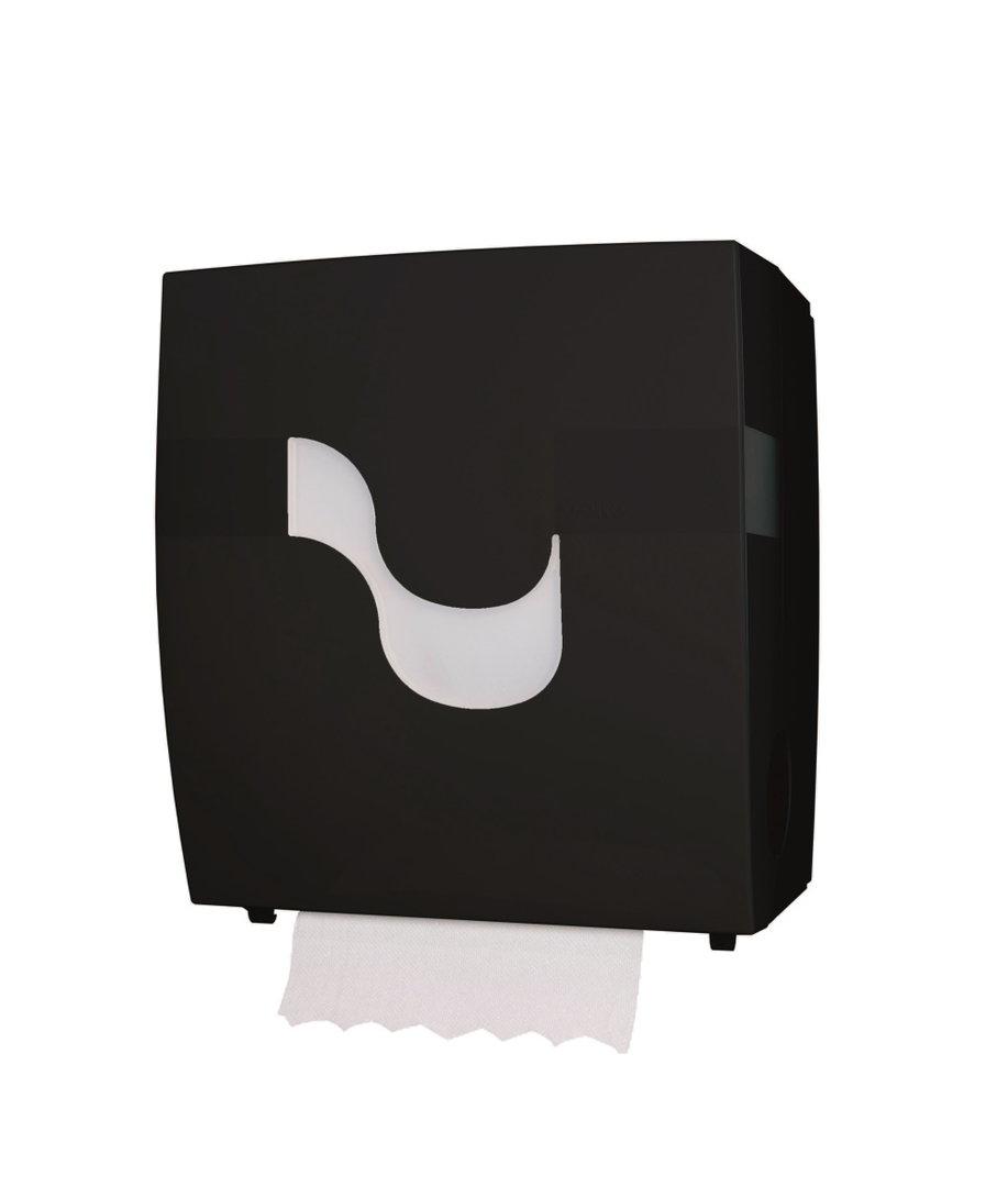 Handtuchrollen Spender Autocut schwarz 1St
