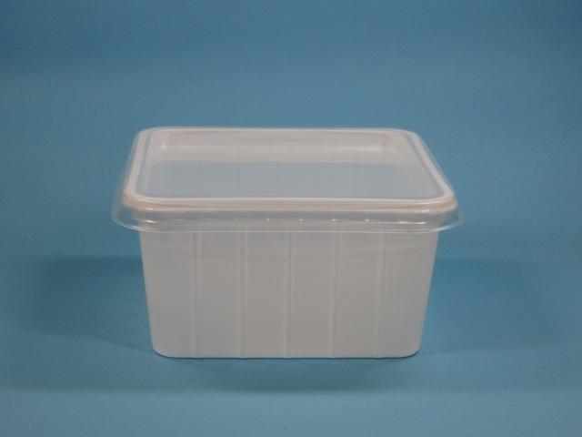 Deckel klar für Verpackungsbecher 115x115 600St