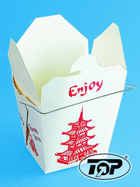 Fold Pak Asia Snackbox mit Henkel 32oz 1000ml 500St
