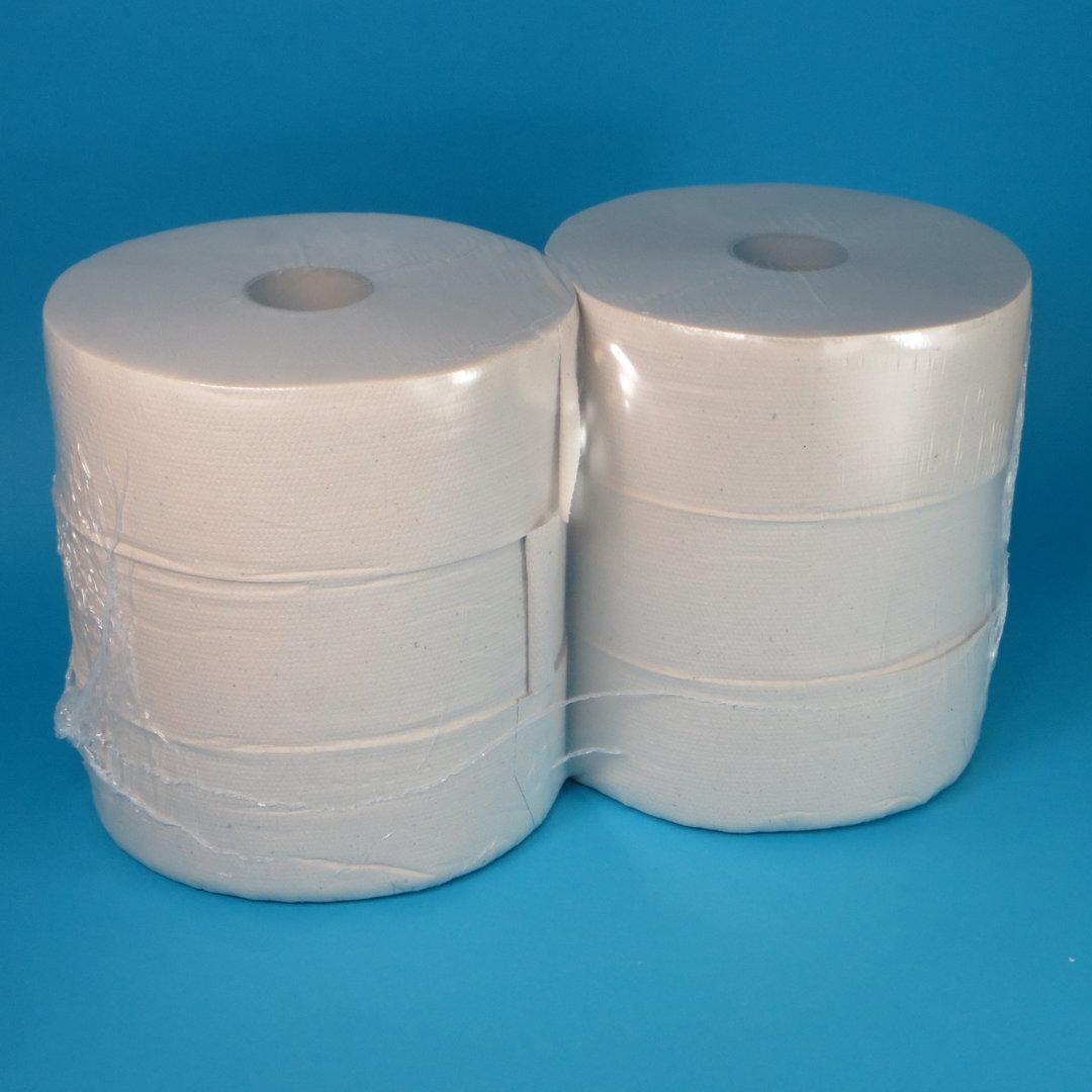 Toilettenpapier Großrolle Tissue Natur 2-lagig 280m 6Ro