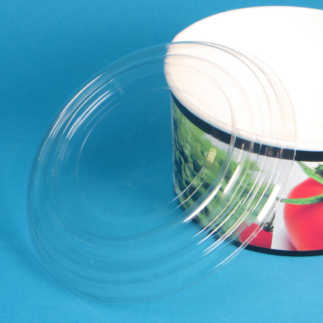 Klarsichtdeckel für Salatschale Hartpapier 600ml 360St