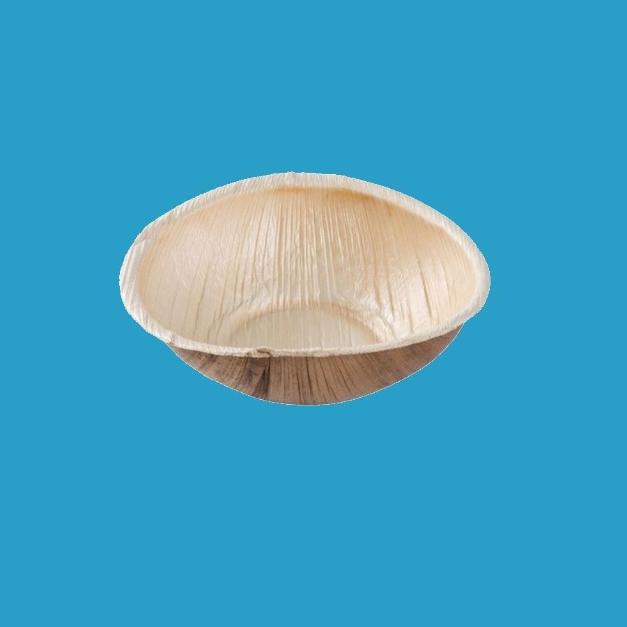 Bio Palmblatt Schalen rund Ø13,5cm 4cm hoch 320ml 200St