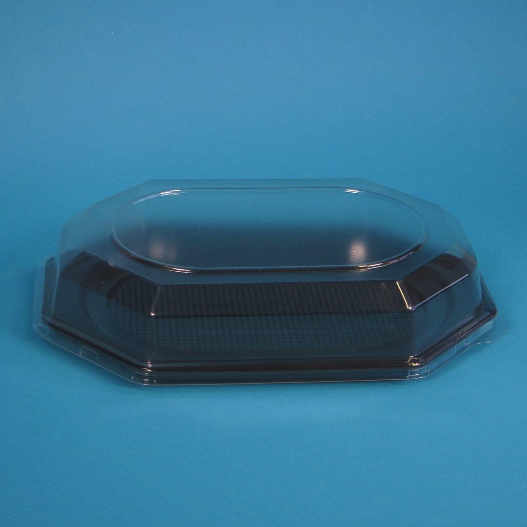 Klarsichthaube 465x310x65mm f. Kunststoff Partyplatten L 50St
