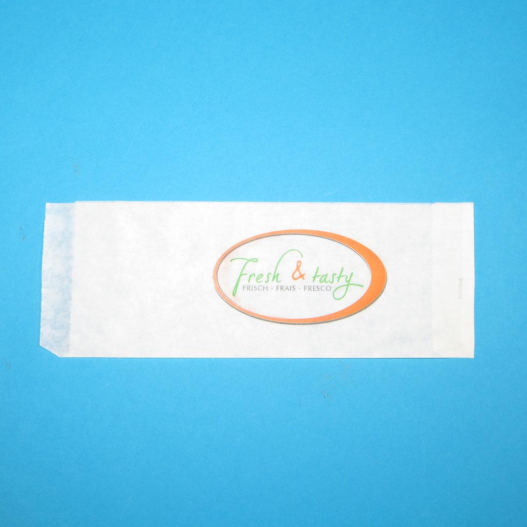 "Papier Hot Dog Beutel ""Fresh & Tasty"" 2000St"