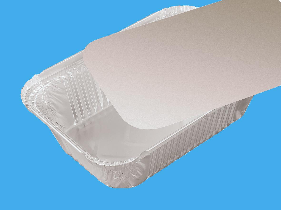 Aluschalen Lasagneschalen R45L Premium 202x137x50mm 1000St