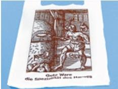 Bäcker Shopper Tragetasche 30+20x50cm 1.000St