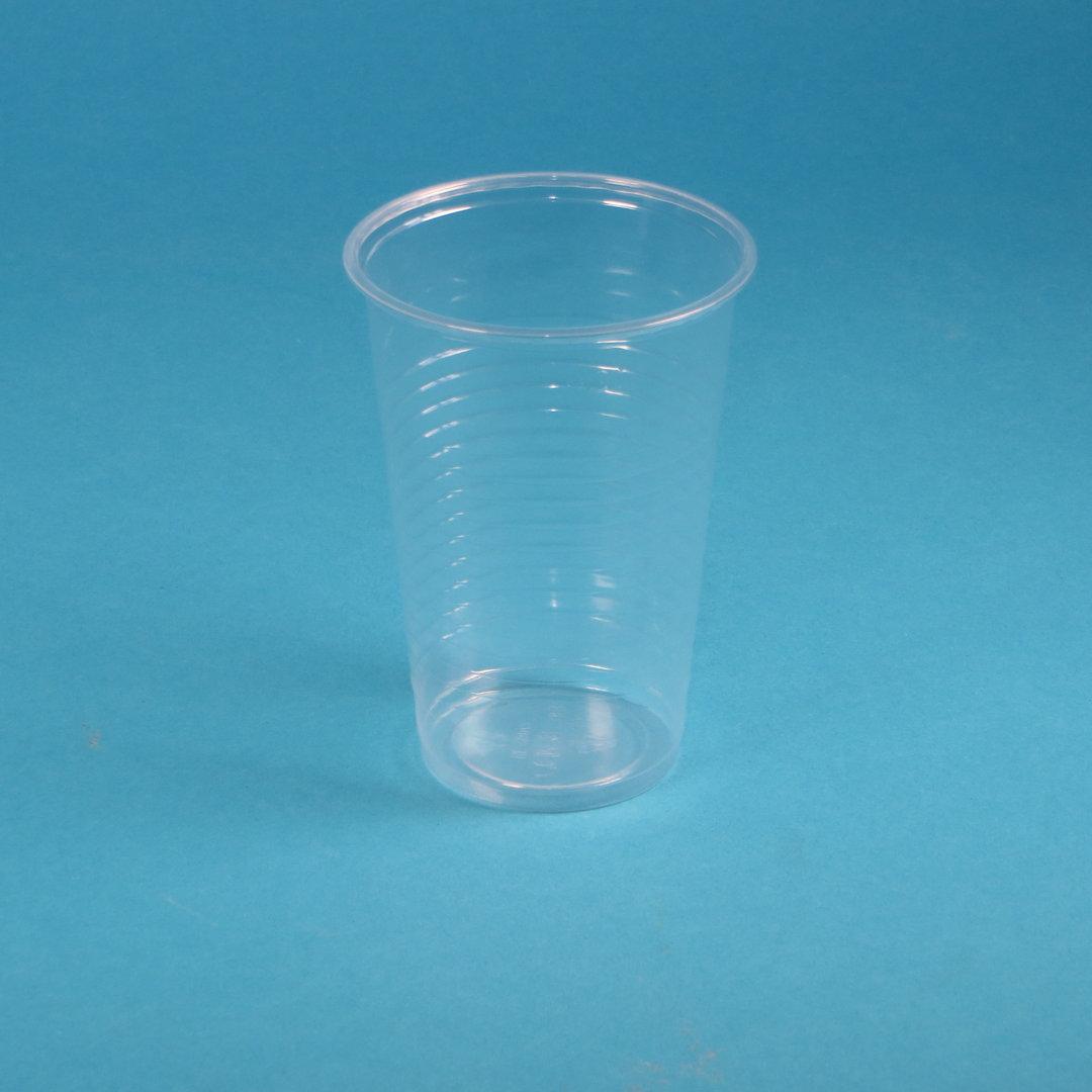Kunststoff Trinkbecher 200ml transparent PP 3.000St