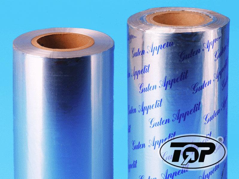 "Thermo Siegelfolie Aluminium ""Guten Appetit"" 245mm/250m 1Ro"